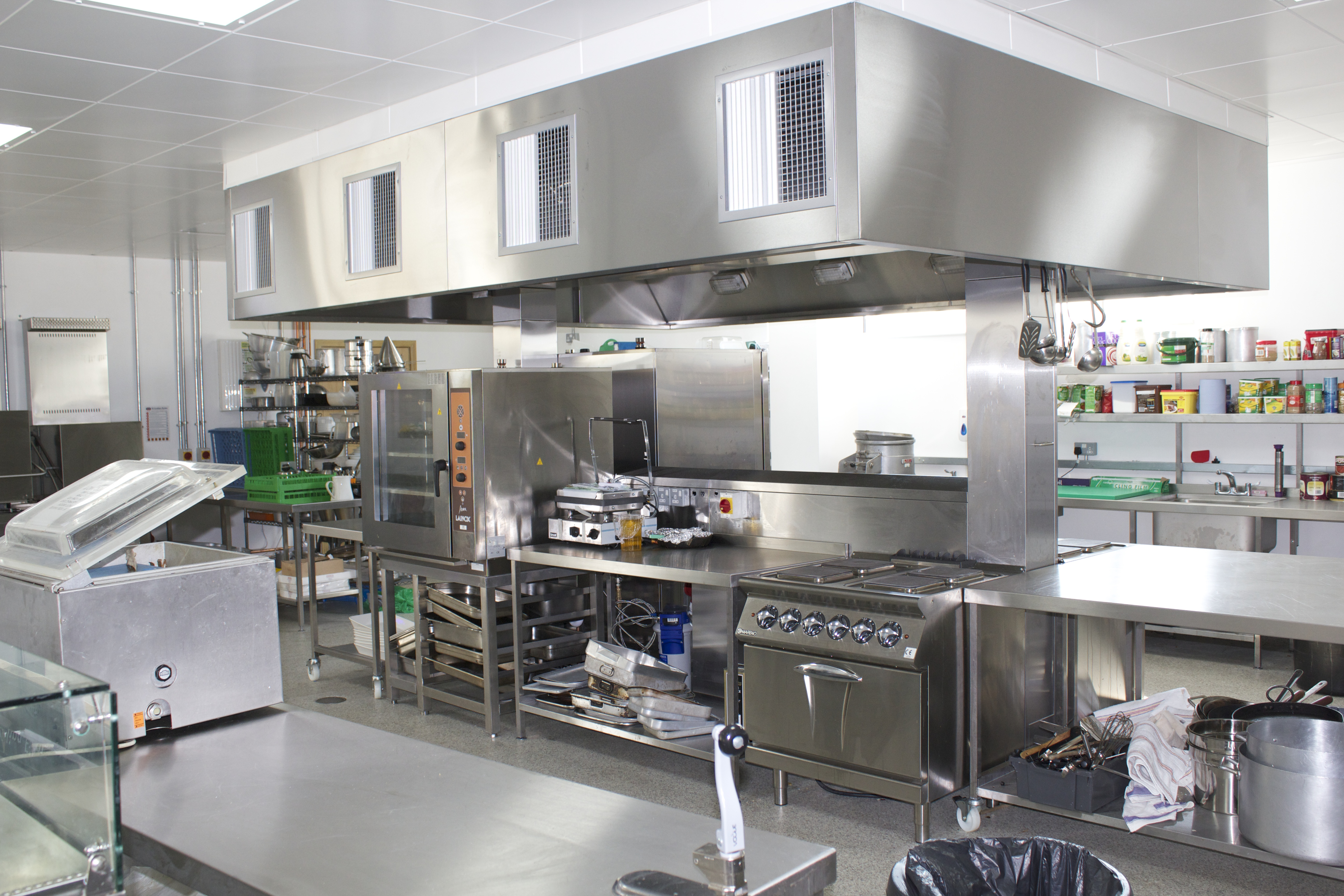 Kirklees New College Training Kitchen
